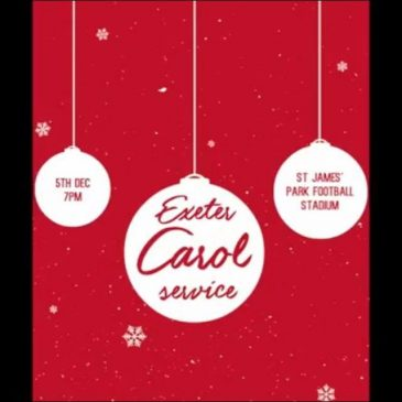 The Exeter University Evangelical CU Carol Service Promo