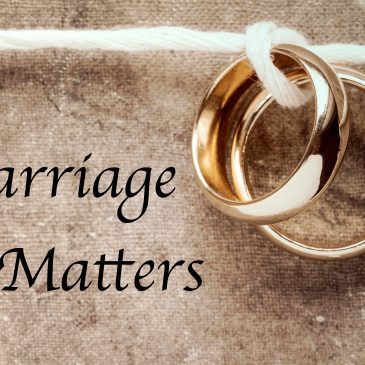 Marriage Matters – Course