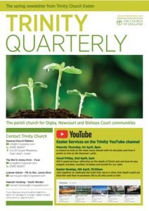 Trinity Quarterly Spring 2021 Edition